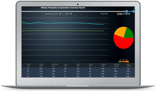 Oil & Gas Business Intelligence | Upstream Dashboards | Enerpact